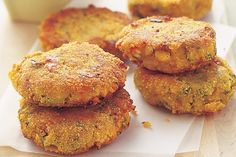 Lentil and potato burgers: I used sweet potato for a healthier alternative and they were YUM!!!