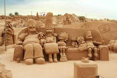 fiesa sand sculpture