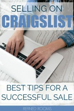 Turn your clutter into cash.Pro Tips for successfully selling on Craigslist. Home Organization Hacks, Organizing Your Home, Organizing Tips, Selling On Craigslist, Small Space Interior Design, Sell Your Stuff, Declutter Your Life, Selling Online, Spring Cleaning