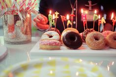 donuts brthday | Poulette Magique