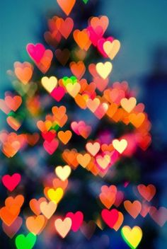 Corações que brilham