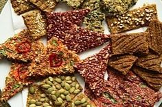RAW FLAX CRACKERS can be super simple and fast to make as well as allowing you to be very creative.   They can even become a work of art!  I LOVE making cra