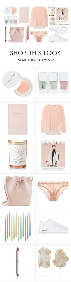"""""""Escape the Ordinary"""" by herbivore-botanicals ❤ liked on Polyvore featuring Nails Inc., Kate Spade, Duffy, D.S. & DURGA, Mansur Gavriel, La Perla, Williams-Sonoma, NIKE, shu uemura and Melissa Joy Manning"""