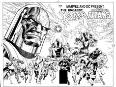 The Marvel Comics of the 1980s — 1982 - Anatomy of a Cover - The Uncanny X-Men and...