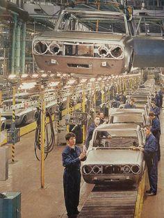 Alfa Romeo assembly line