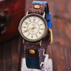 Cool! Retro Classical Quartz Cortical Leather Women Waterproof Wrist Watch just $29.99 from ByGoods.com! I can't wait to get it!