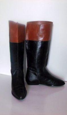 Rare John Lobb London St. James Two-Tone Calf Bespoke Riding Boots ...