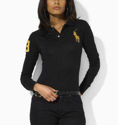 8bfd645cd05f Ralph Lauren Mancher Longues Polo Femme