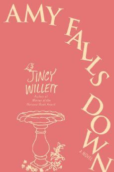 Amy Falls Down by Jincy Willet. When David Sedaris suggests a funny book, I read it. Author is hilarious but also has a way of expressing thoughts and feelings that made me feel as tho she'd read my mind. Loved this one. :)