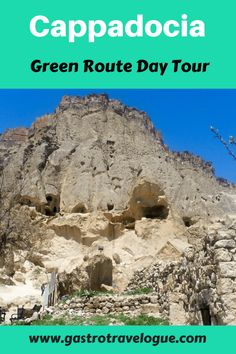 Cappadocia Green Route Day Tour - #turkey #cappadocia #travelblog -www.gastrotravelogue.com