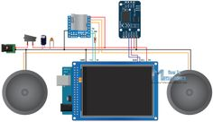 Arduino Music Player and Alarm Clock Parts List Circuit Schematics