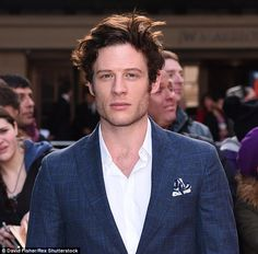Actor James Norton, pictured in March, has defended BBC One's upcoming adaption of Lady Chatterley's Lover by saying it's important for costume dramas to be 'relevant' to modern times