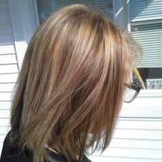 Hair cut and color done by Angie at Natural Nails Columbia Mo