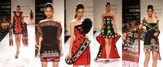 -Asa Kazingmei, Designer  -Lakme Fashion Week Winter/Festive 2012 -matador chic w/ bold Spanish colors, tailored silhouettes and architectural elements to add the volume factor.