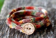 Women's Wrap Bracelet  KNITTING PATTERN  Rustic by thesittingtree, $1.99