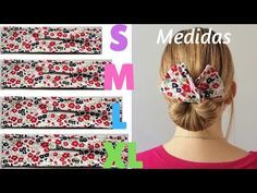 Banda para crear moño con diferentes medidas. Fabric bun maker. - YouTube Scrap Fabric Projects, Small Sewing Projects, Sewing Hacks, Crafts To Make And Sell, How To Make Bows, Hair Bun Maker, Art And Craft Videos, Christmas Ornament Crafts, Creation Couture