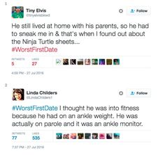 Twitter Users Share Their #WorstFirstDate Experiences (13 Photos)
