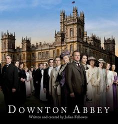Downton Abbey, this is my new favorite show!!! I can't wait for the next season to come out on BBC!!!