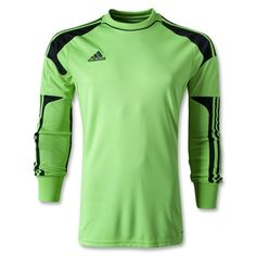 soccer goalie jerseys   adidas Revigo 13 Green Soccer Goalkeeper Jersey - model Z20121