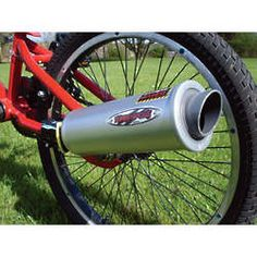 Turbospoke Bike Exhaust System Toy - And you thought the card in the spokes was annoying. . . lol