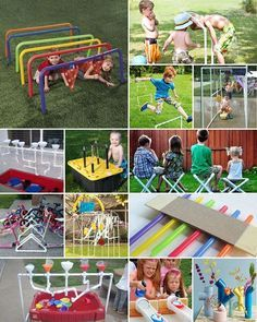 PVC Pipe Ideas: why waste when you can turn this simple element into an innovative educational toy or décor element?