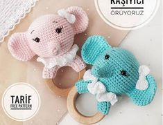 Crochet Gifts Crochet Baby Crochet Dolls Crochet Elephant Baby Elephant Amigurumi Bebe Premature Baby Baby Rattle Cosas A Crochet Crochet Doll Pattern, Crochet Toys Patterns, Stuffed Toys Patterns, Crochet Dolls, Crochet Baby Toys, Crochet Gifts, Kit Bebe, Popular Crochet, Crochet Elephant