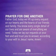 I love these prayers