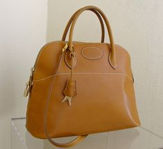 HERMES Bolide 35cm Peccary Leather