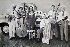 slim rhodes band with hughey 1954