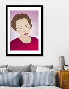 Discover «Random Girl», Limited Edition Fine Art Print by Rie Orpano - From $29 - Curioos