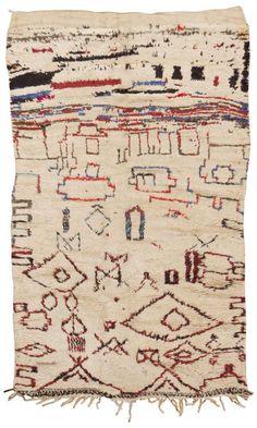 Vintage Moroccan Rug   $5,400.00, via Etsy.