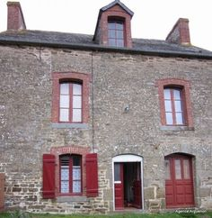 10mn dinan: pretty detached house to renovate! - see www.frenchpropertylinks.com for more details French Property, Detached House, Property For Sale, Cabin, Windows, House Styles, Amazing, Pretty, Home Decor
