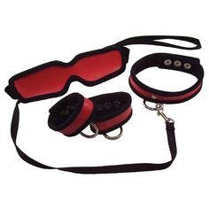 5 Piece Red Restraint Kit. Check it out!