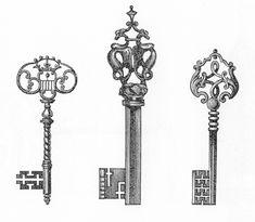 старинный ключ - Поиск в Google