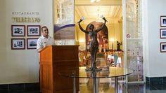El Telegrafo es el hotel más antiguo de Cuba, y abrió sus puertas al público alrededor de 1860, unos años después de fundada la primera estación de telégrafo en el país, en la que se inspira el nombre del hotel. #hotel #habana #cuba