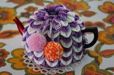 Items similar to Crochet TEA COSY on Etsy