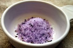 """Weekly Detox Bath""    How To:  Once a week for 20 minutes, sit in a hot bath that contains a handful of Epsom salts, 10 drops of lavender oil, and a half cup of baking soda. This combonation draws out toxins, lowers stress-related hormones, and balances your pH levels."