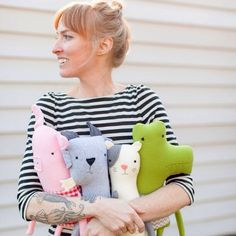 You didn't think these cuties just made themselves, did you? Meet the woman who does. #dayinthelife #etsy