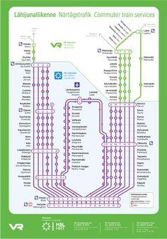 Frankfurt City Transit map - Beautifully integrated Local train (S-Bahn) and DB High Speed Rail ...