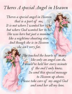 Angel in heaven quotes for FACEBOOK | Angel In Heaven Pictures, Photos, and Images for Facebook, Tumblr ...