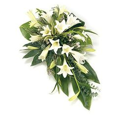 Order sympathy flowers - Fineflora offers a large range of flowers and floral arrangements to send to funeral directors in England, Wales, Scotland, and Northern Ireland (UK and Great Britain) Casket Flowers, Altar Flowers, Church Flowers, Funeral Flowers, Arrangements Funéraires, Funeral Floral Arrangements, Deco Floral, Arte Floral, September Flowers