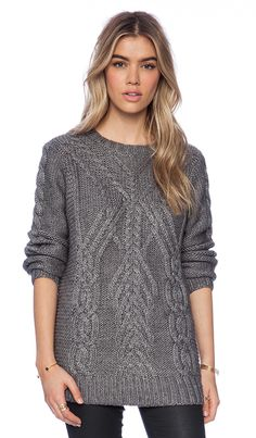 Perfect cable knit for the winter
