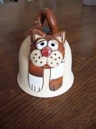 zvoneček z keramiky - Hledat Googlem Clay Ornaments