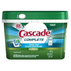 Cascade Complete ActionPacs Dishwasher Detergent Fresh - 46 ea