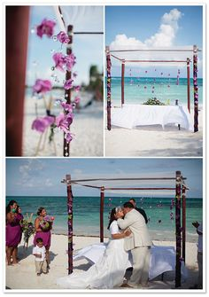 Grand Palladium Riviera Maya Wedding by Julia Azcona Photography on BorrowedandBleu.com