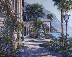 Varenna Villa II - Original Oil