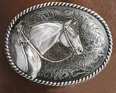 Western Belt Buckles, Cowgirl Belts, Western Belts, Western Wear, Jewelry Art, Women Jewelry, Jewellery, American Quarter Horse, Horse Head