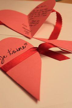 diy valentines day card