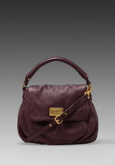 MARC BY MARC JACOBS Classic Q Lil Ukita Shoulder Bag in Cardamom Brown - Marc by Marc Jacobs