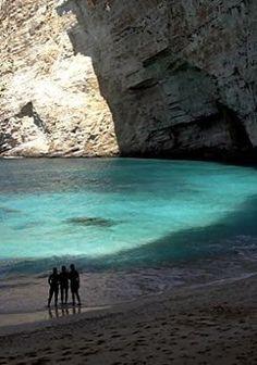 Vassilikos beach, Zakynthos Island, Greece